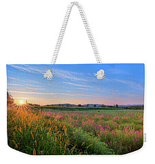 Weekender Tote Bag featuring the photograph Summer In The Hills 2017 by Bill Wakeley