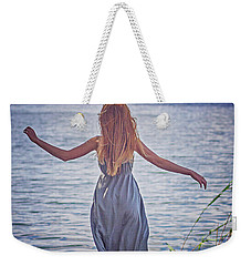 Summer In The Light And Winter In The Shade Weekender Tote Bag by Agnieszka Mlicka