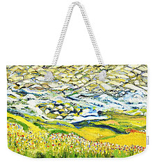 Summer In The Wild Weekender Tote Bag by Evelina Popilian