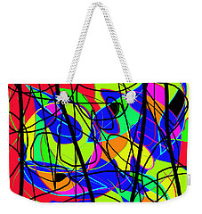 Summer In Town Weekender Tote Bag