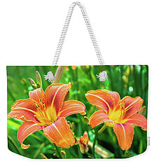 Weekender Tote Bag featuring the photograph Summer Jubilation by Bill Pevlor