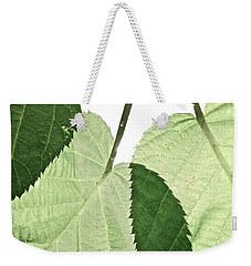 Summer Leaves Weekender Tote Bag