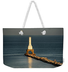 Summer Lighthouse Weekender Tote Bag