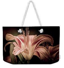Summer Lily Weekender Tote Bag