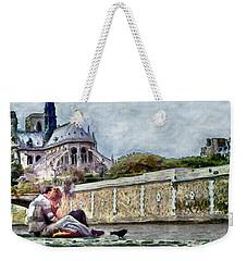 Weekender Tote Bag featuring the digital art Summer Love by Pennie McCracken
