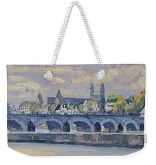 Summer Maas Bridge Maastricht Weekender Tote Bag