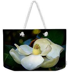 Summer Magnolia Weekender Tote Bag