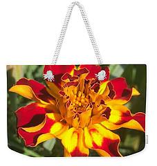 Summer Marigold Weekender Tote Bag