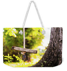 Weekender Tote Bag featuring the photograph Summer Memories On The Farm by Shelby Young
