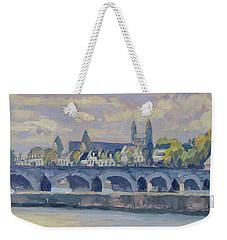 Summer Meuse Bridge, Maastricht Weekender Tote Bag