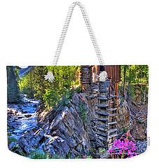 Summer Mill Weekender Tote Bag