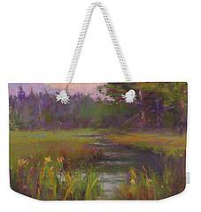 Summer Morning Beaver Marsh Weekender Tote Bag