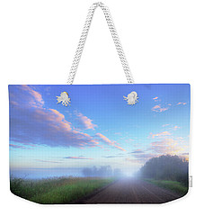 Weekender Tote Bag featuring the photograph Summer Morning In Alberta by Dan Jurak