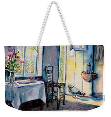 Summer Morning Visitor  Weekender Tote Bag