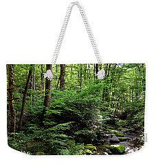 Summer Mountainside Weekender Tote Bag
