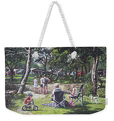 Summer New Forest Picnic Weekender Tote Bag