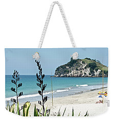 Summer New Zealand Beach Weekender Tote Bag by Yurix Sardinelly