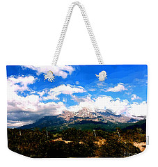 Summer On Mt. Shasta Weekender Tote Bag by Methune Hively