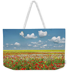 Weekender Tote Bag featuring the photograph Summer Palette by Tim Gainey