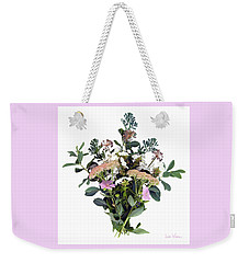 Summer Perrenials Weekender Tote Bag