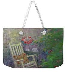 Summer Porch And Rocker Weekender Tote Bag