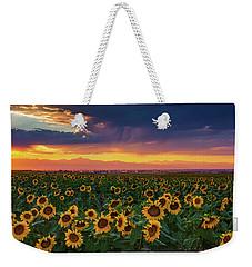 Summer Radiance Weekender Tote Bag