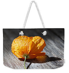 Summer Rain Weekender Tote Bag by Lynn England
