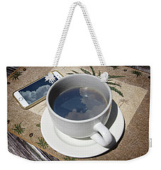Weekender Tote Bag featuring the photograph Summer Reflections by Phil Mancuso