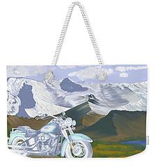 Summer Ride Weekender Tote Bag