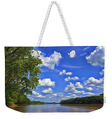Summer River Glory Weekender Tote Bag