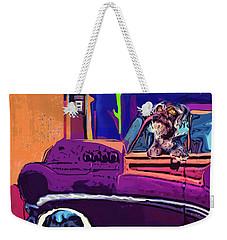 Summer Roadtrips Westward Ho Weekender Tote Bag