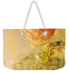 Summer Rose Weekender Tote Bag by Catherine Alfidi
