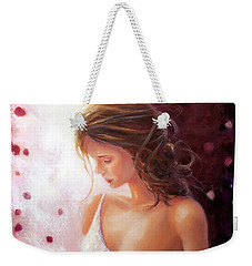 Summer Rose Weekender Tote Bag