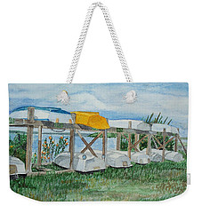 Summer Row Boats Weekender Tote Bag