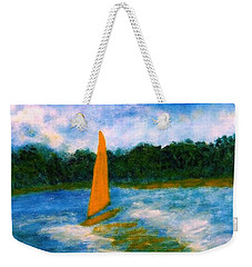 Summer Sailing Weekender Tote Bag