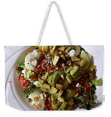 Weekender Tote Bag featuring the photograph Summer Salad by Joel Deutsch
