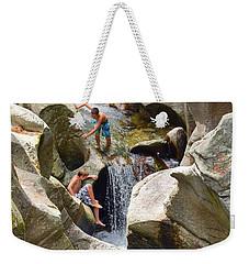 Summer Scramble Weekender Tote Bag
