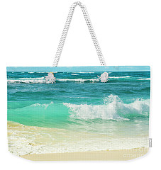 Weekender Tote Bag featuring the photograph Summer Sea by Sharon Mau
