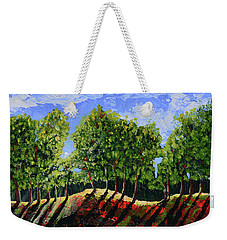 Summer Shadows Weekender Tote Bag by Donna Blackhall