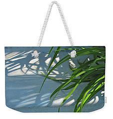 Weekender Tote Bag featuring the photograph Summer Shadows by Nancy Lee Moran