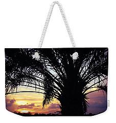 Summer Silhouette Weekender Tote Bag