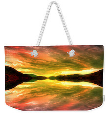 Summer Skies At Skaha Weekender Tote Bag by Tara Turner
