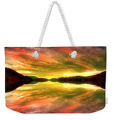 Summer Skies At Skaha Weekender Tote Bag