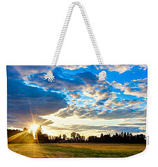 Summer Skies Weekender Tote Bag
