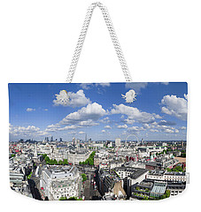 Summer Skies Over London Weekender Tote Bag