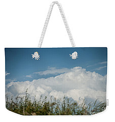 Weekender Tote Bag featuring the photograph Summer Sky by Jan Bickerton