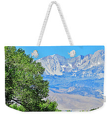 Summer Snow Weekender Tote Bag by Marilyn Diaz