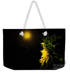 Weekender Tote Bag featuring the photograph Summer Solstice Flower 2016 by Angela J Wright