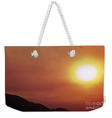 Weekender Tote Bag featuring the photograph Summer Solstice Sun 2016 by Angela J Wright