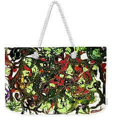 Summer Splash Weekender Tote Bag